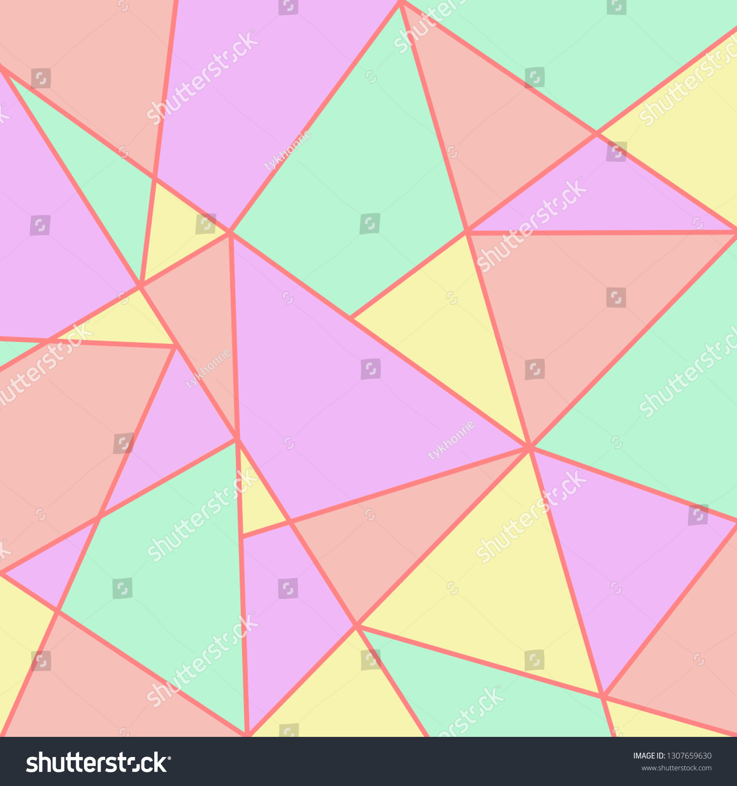stock-photo-cute-light-triangle-abstract