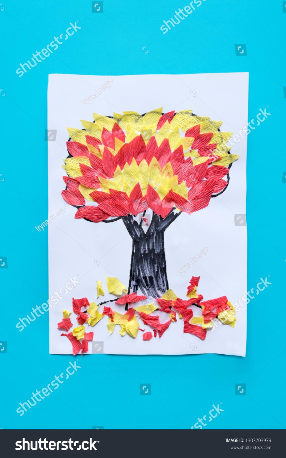 Preschool Arts Crafts Activities Easy Crafts Stock Photo Edit Now