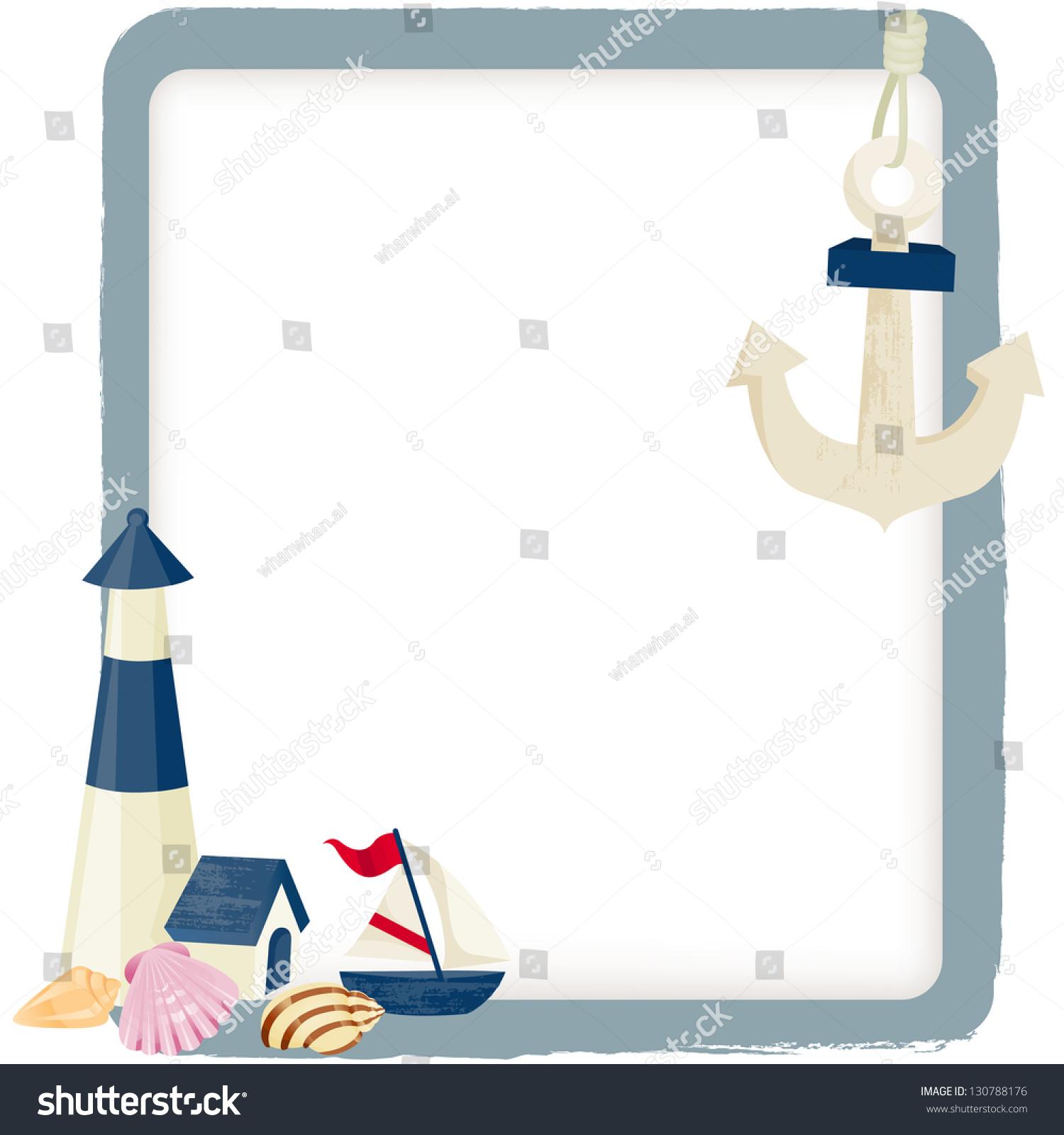 nautical background stock vector illustration 130788176