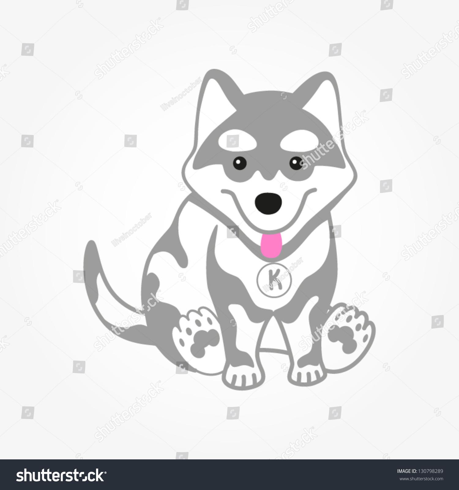 free clipart husky dog - photo #29