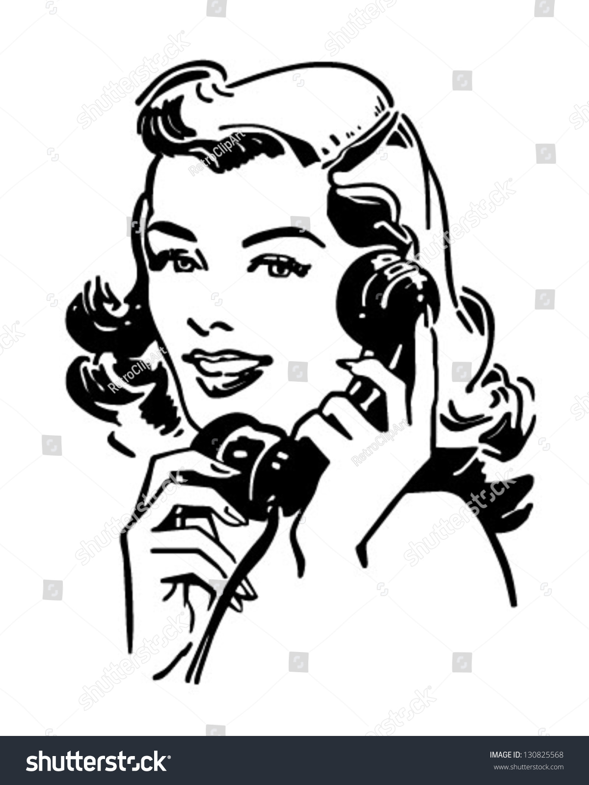 vintage telephone clipart - photo #47