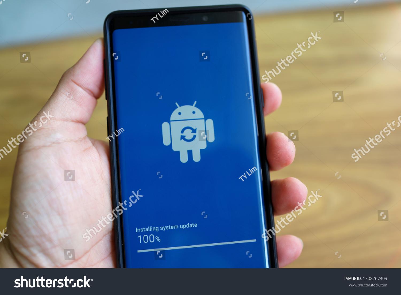 Penang Malaysia Feb 9 2019 Android Stock Photo (Edit Now) 1308267409