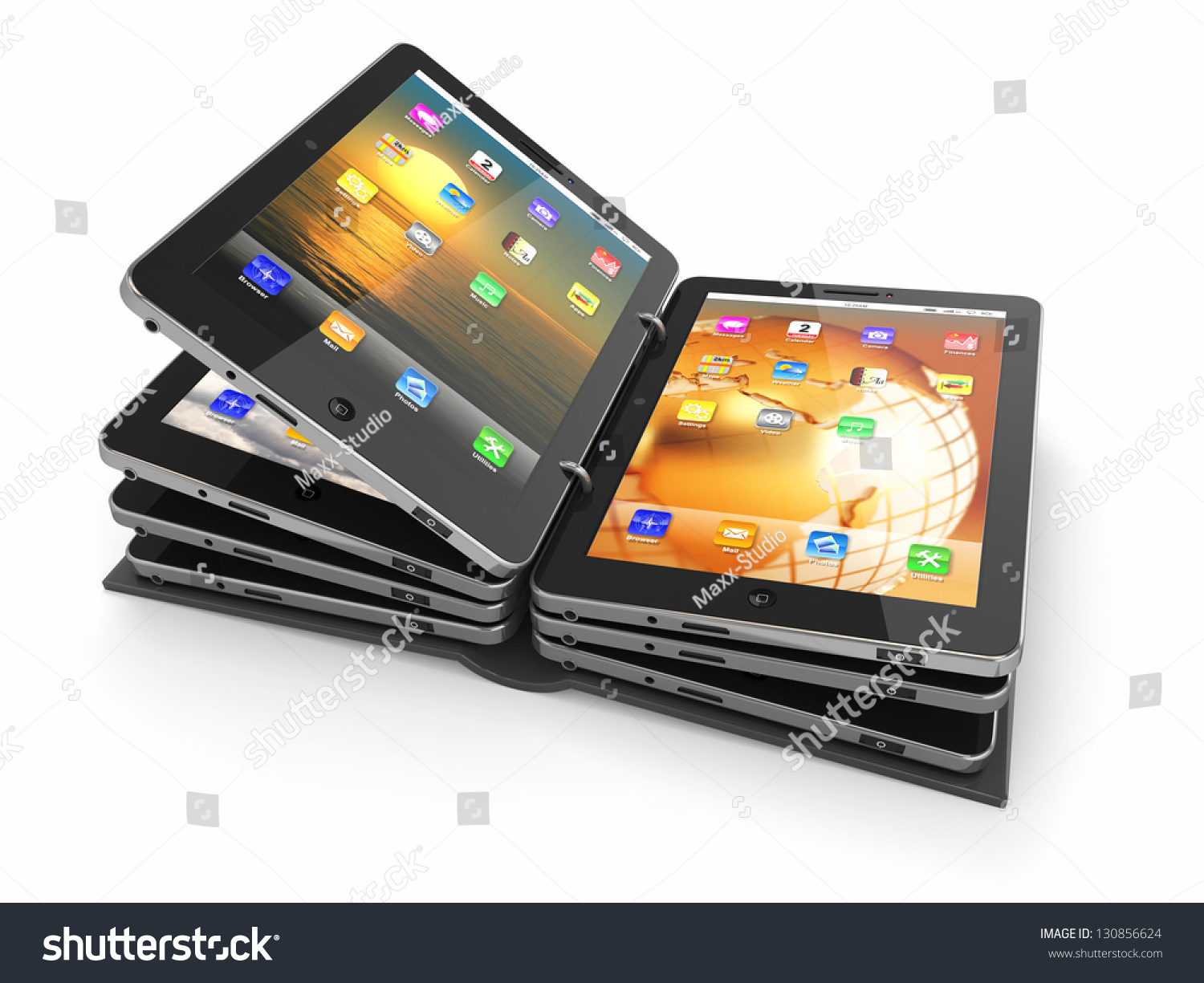 how to add folder in tablet
