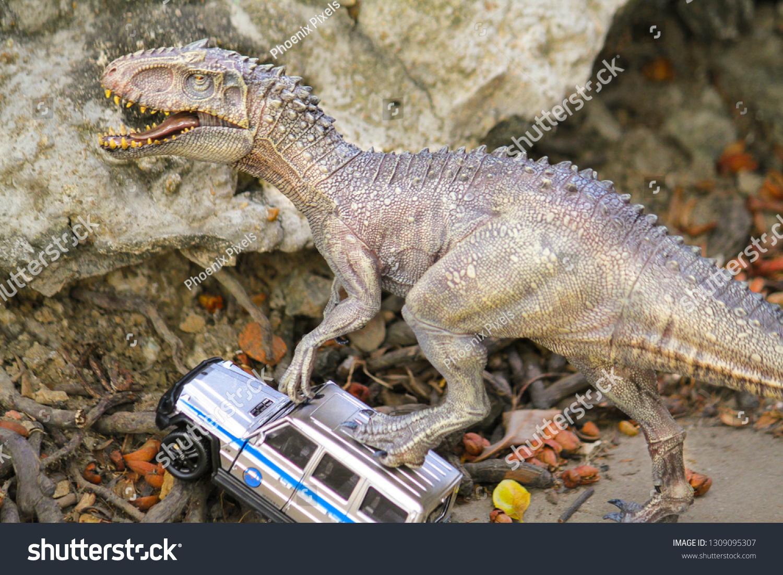 Bangkok Thailandfeb 10 2019 Indominus Rex Stock Photo (Edit