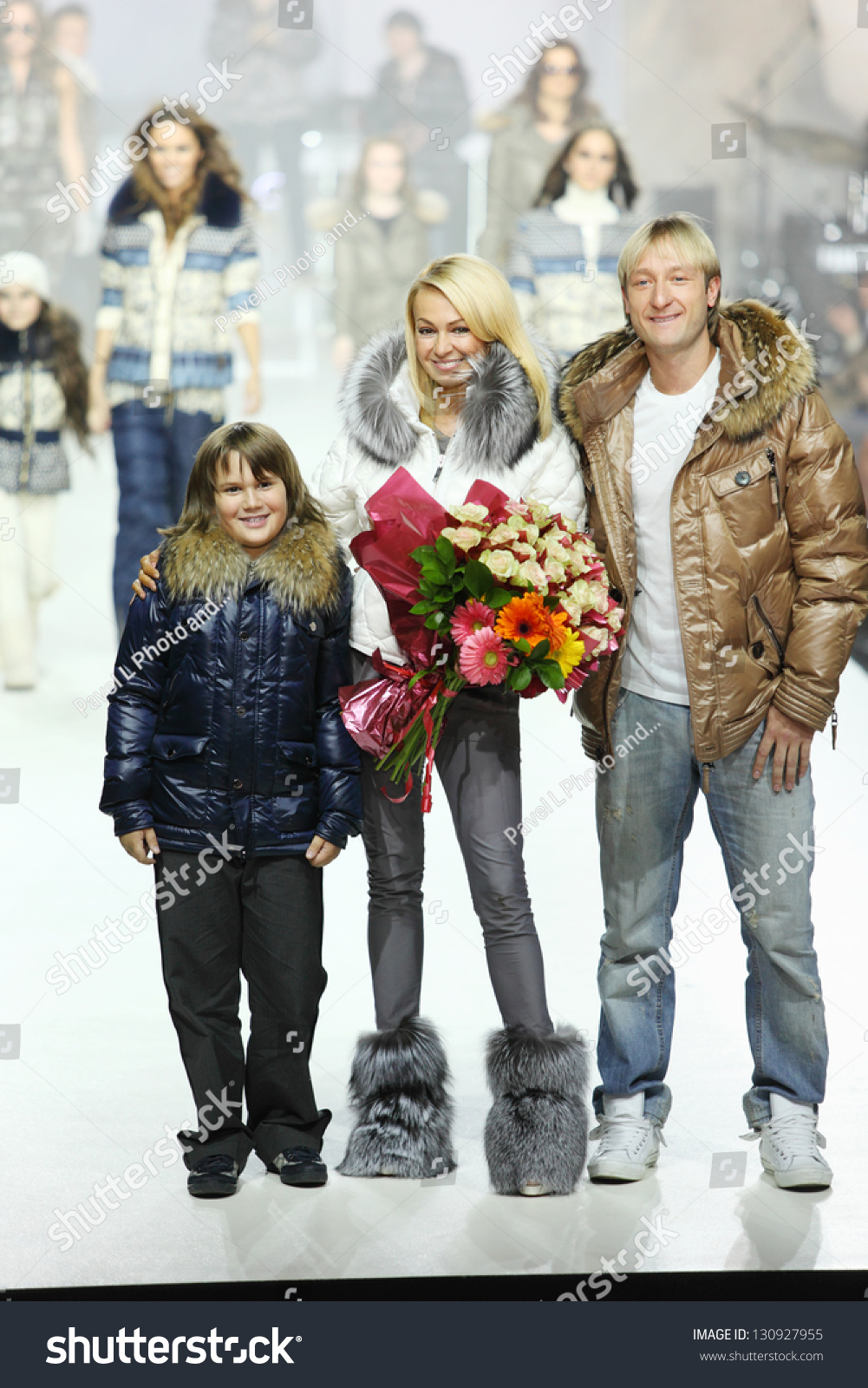 Plushenko and Rudkovskaya will shoot a reality show about their family life 04/12/2017 80