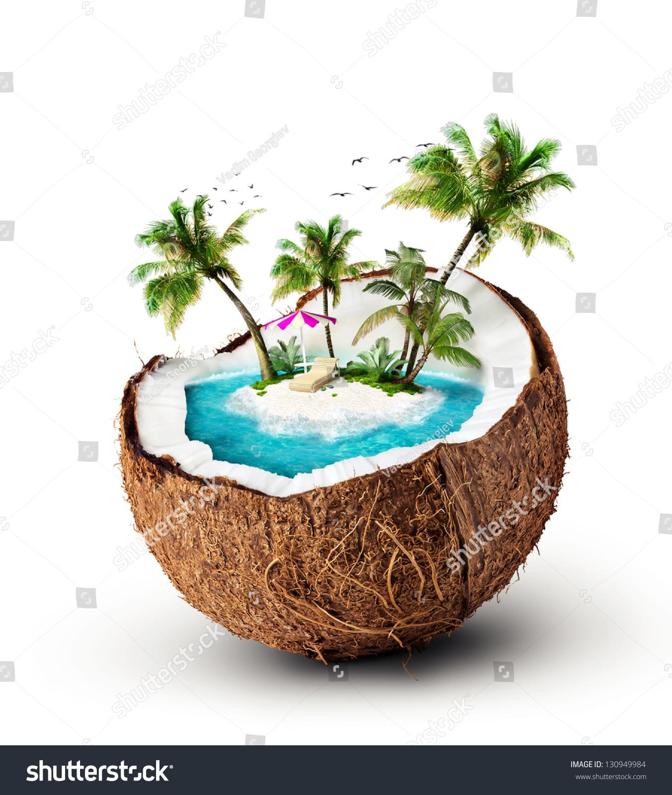 Stock Photo Tropical Island