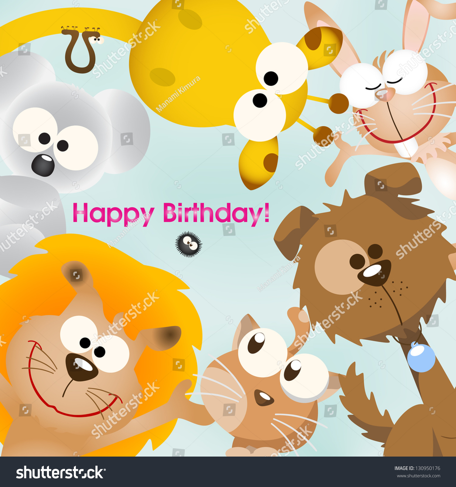 Animal Birthday Cards funny romantic ecards – Make a Birthday Card Online