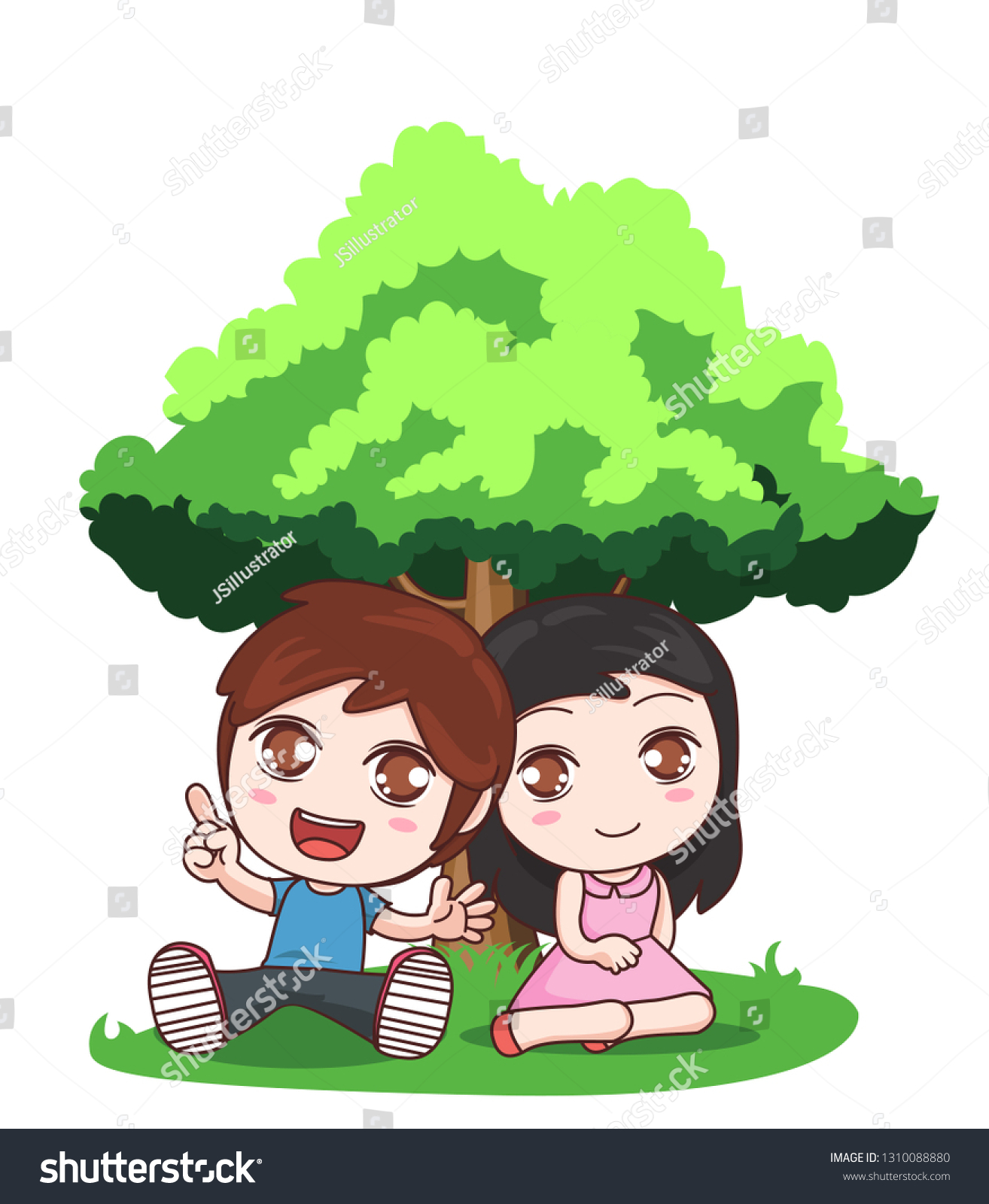 Couple Sitting Under Tree Lover Cartoon Stock Vector Royalty Free 1310088880 Children reading cartoon pictures » dondrup.com. https www shutterstock com image vector couple sitting under tree lover cartoon 1310088880