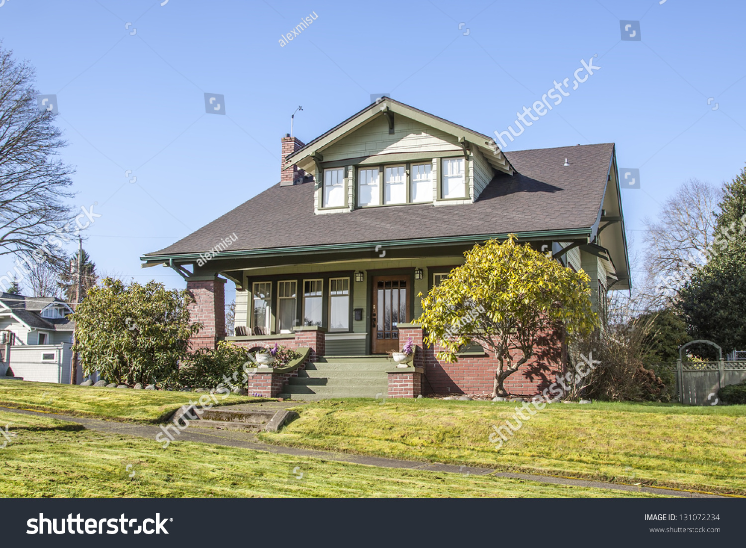 Old american suburban house stock photo 131072234 for Old american houses