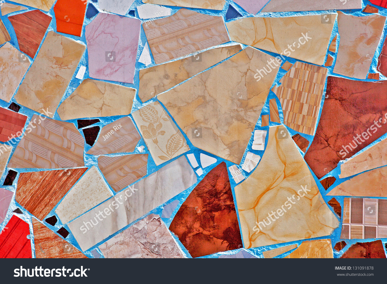 Interesting Mosaic Pavement Cairo Egypt Made Stock Photo Edit Now