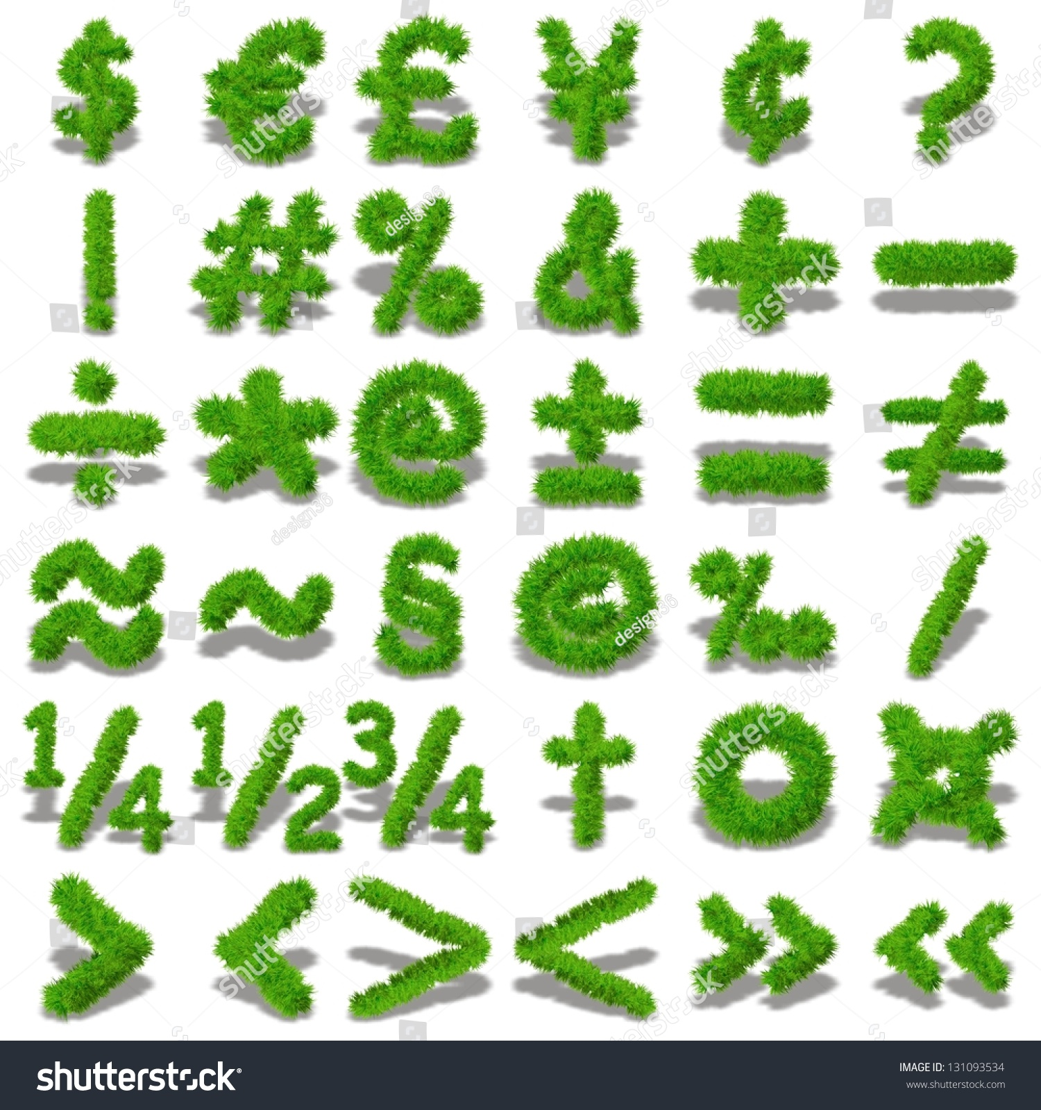 Concept conceptual set collection green grasseco stock illustration a concept or conceptual set or collection of green grasseco symbol font isolated on biocorpaavc Gallery