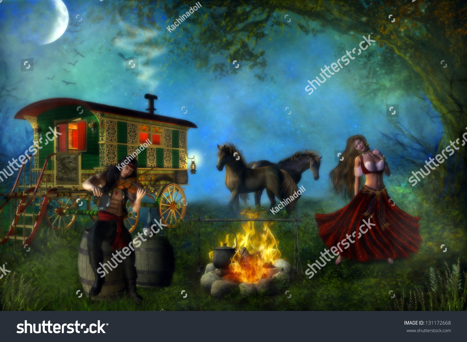 Image result for horse dancing with gypsies