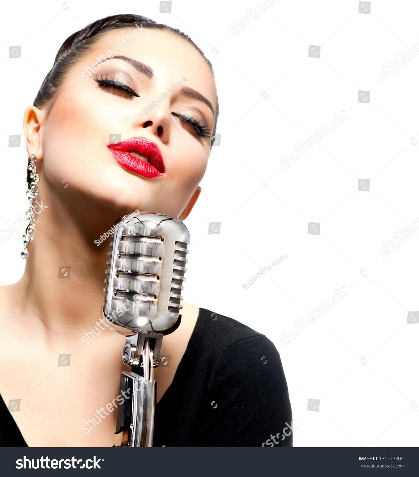 singing the girl retro - photo #43