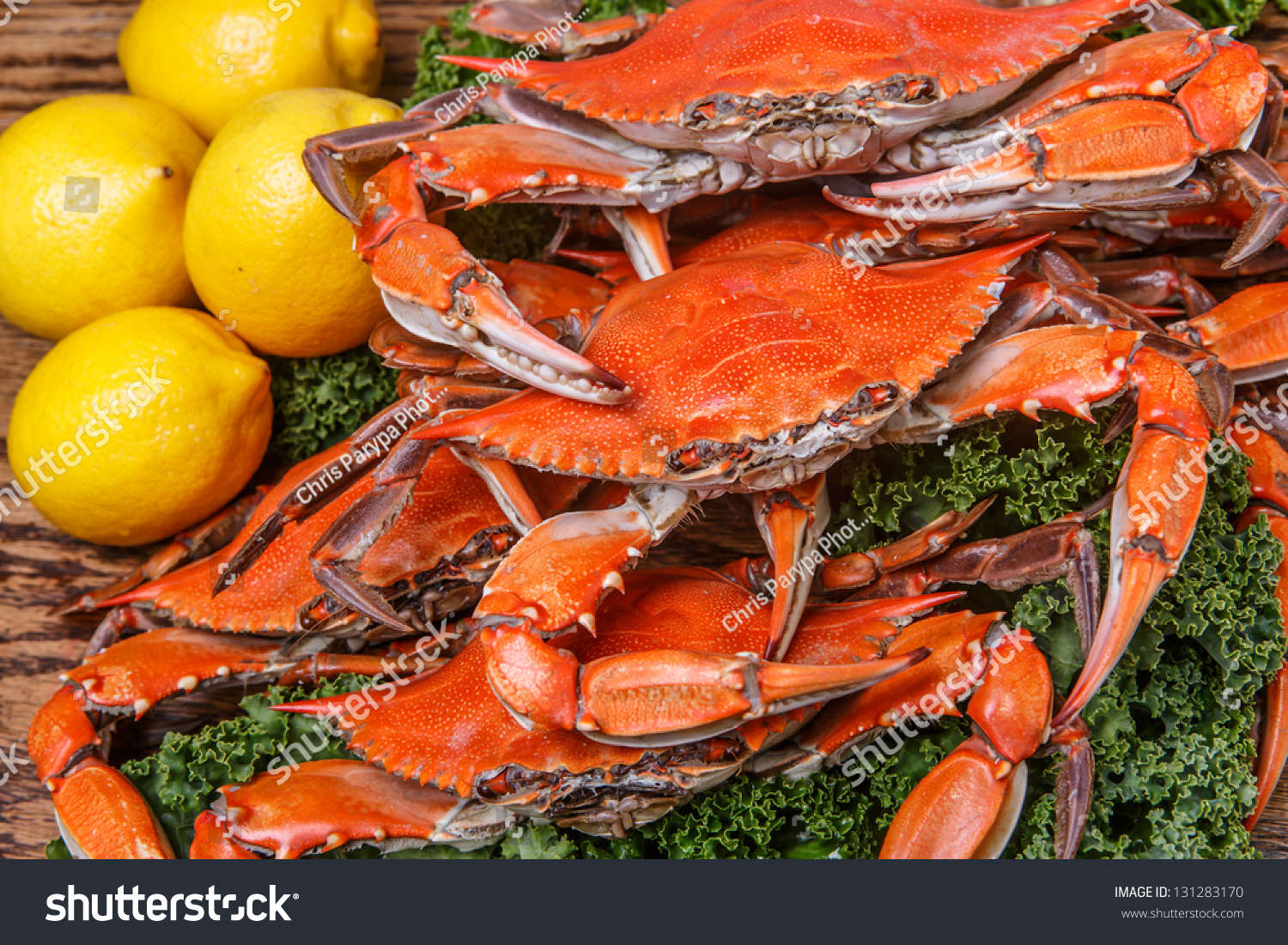 Steamed Blue Crabs One Of The Symbols Of Maryland State And Ocean