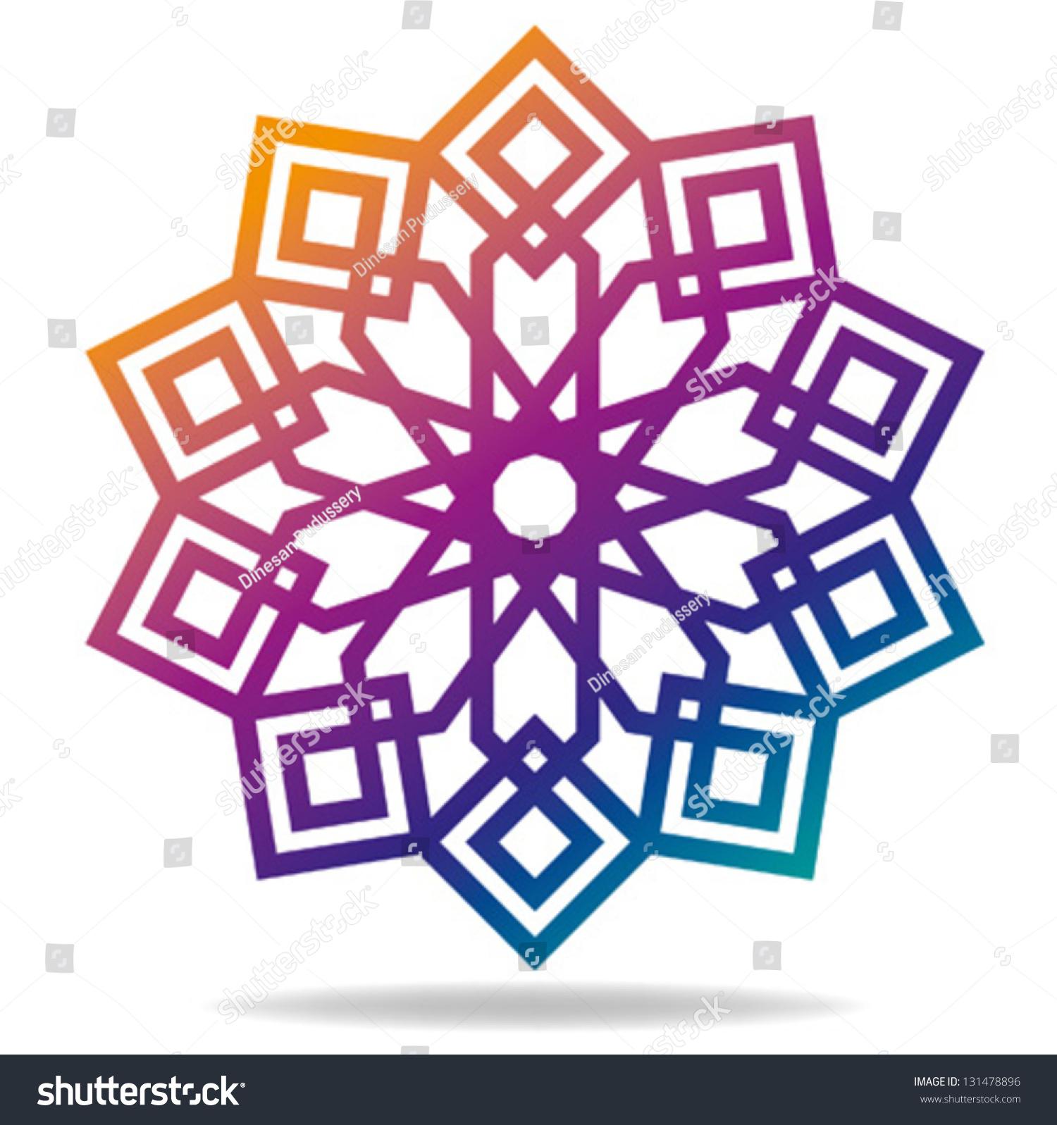 arabic decorative pattern islamic symbol stock vector 131478896 rh shutterstock com islamic vector eps islamic vector eps