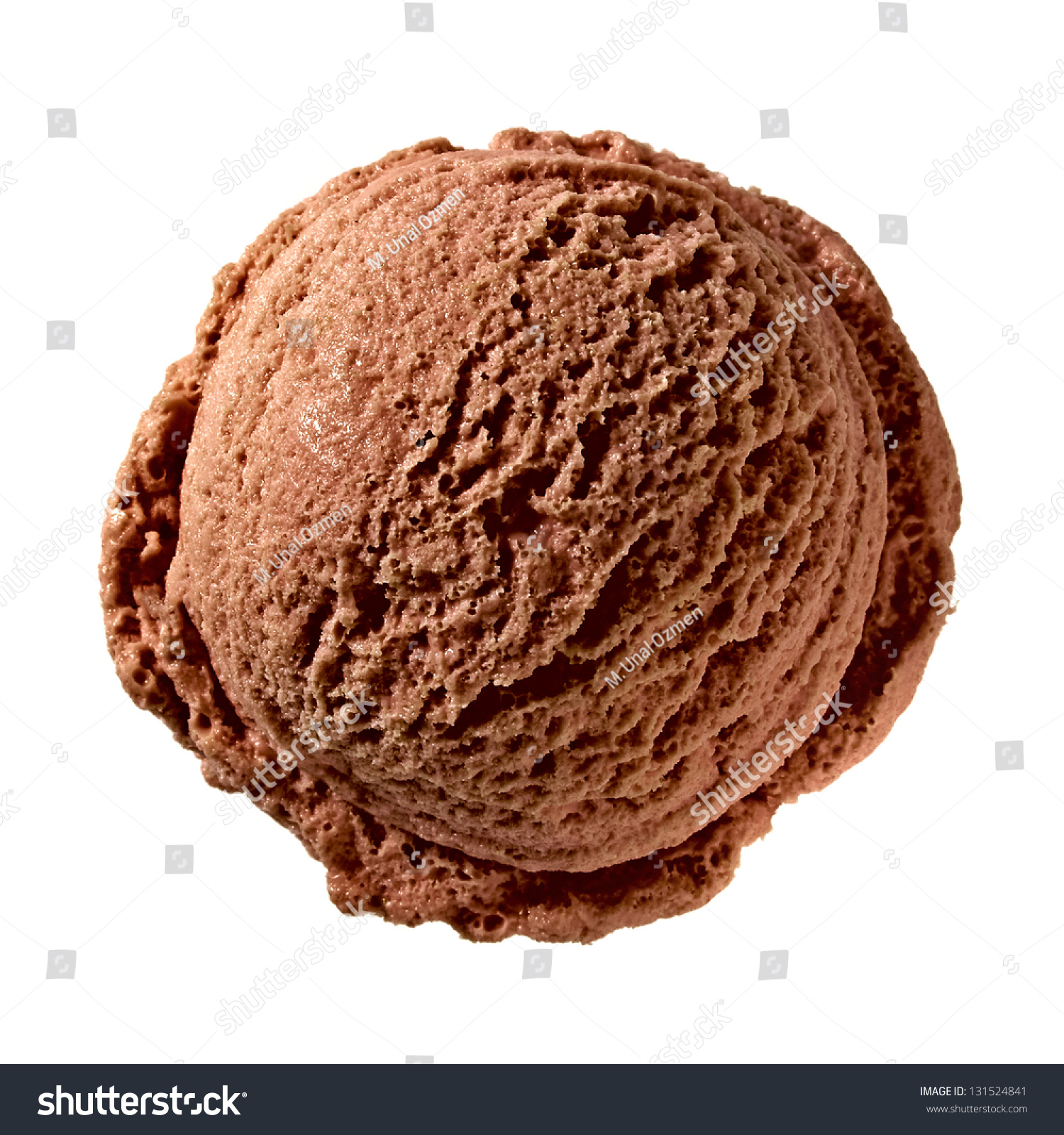 chocolate ice cream scoop top on stock photo 131524841 shutterstock. Black Bedroom Furniture Sets. Home Design Ideas