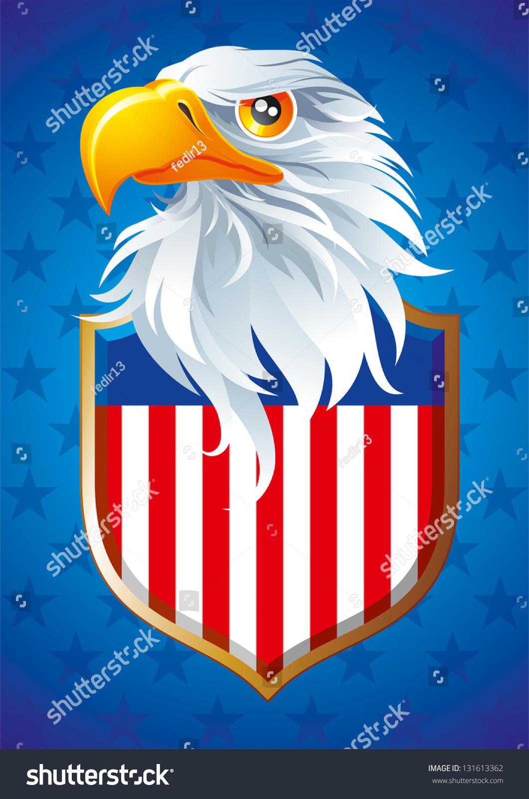 National Symbol Usa Stock Illustration Royalty Free Stock