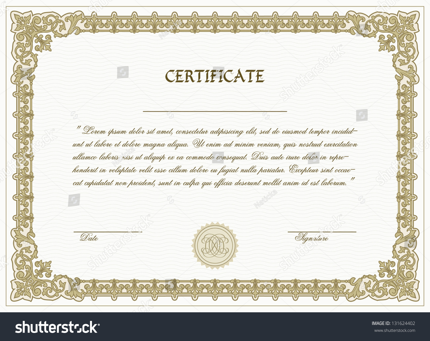 customizable gift certificate template