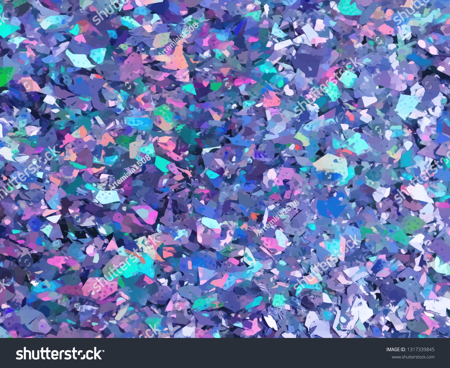 Violet Purple Sparkles Purple Glitter Background Stock Vector Royalty Free 1317339845