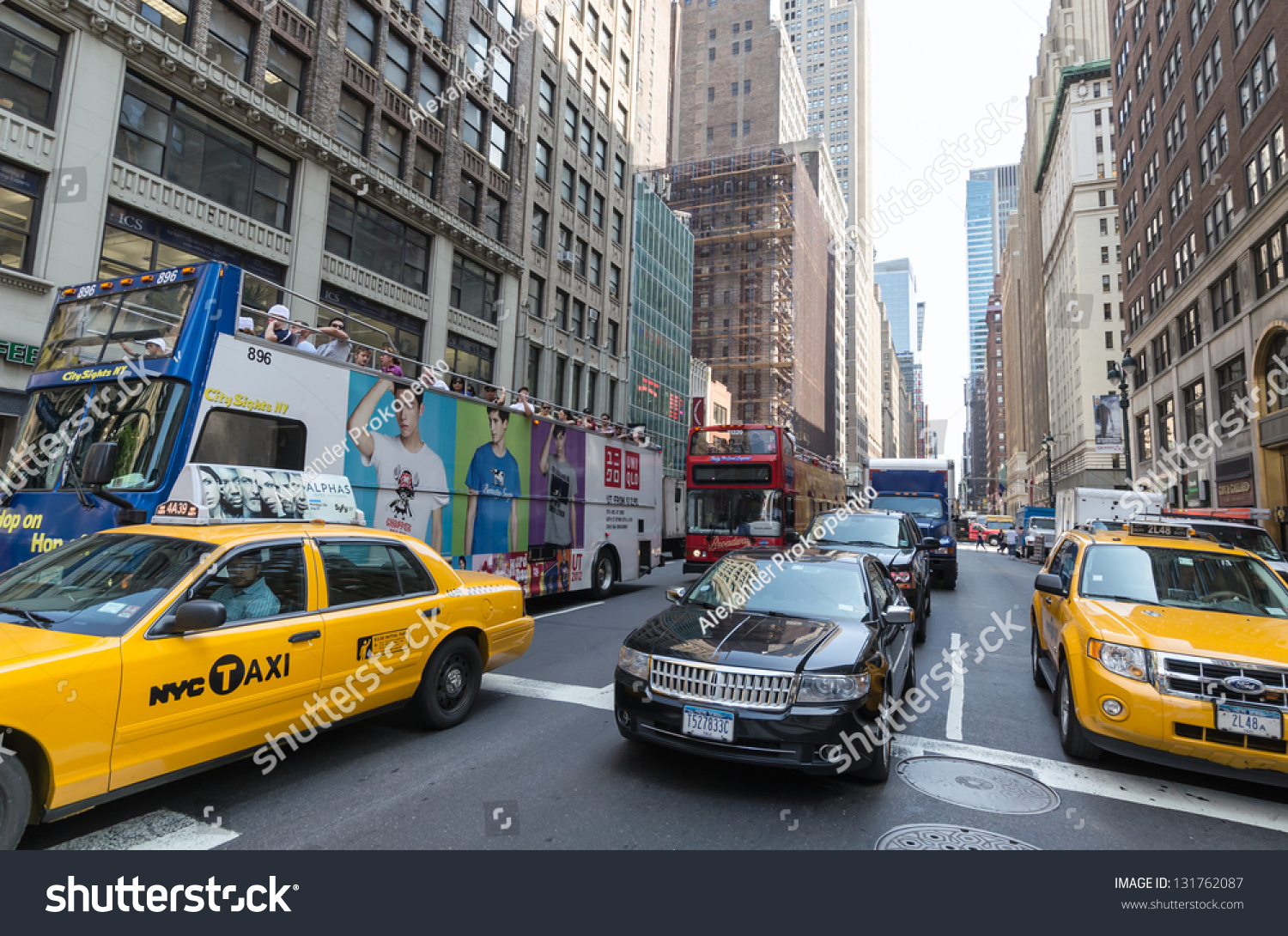 NEW YORK CITY JULY 12 Cars Stock Photo Edit Now 131762087