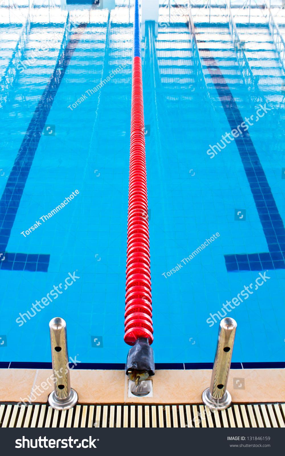 Lane Ropes Swimming Pool Stock Photo 131846159 Shutterstock