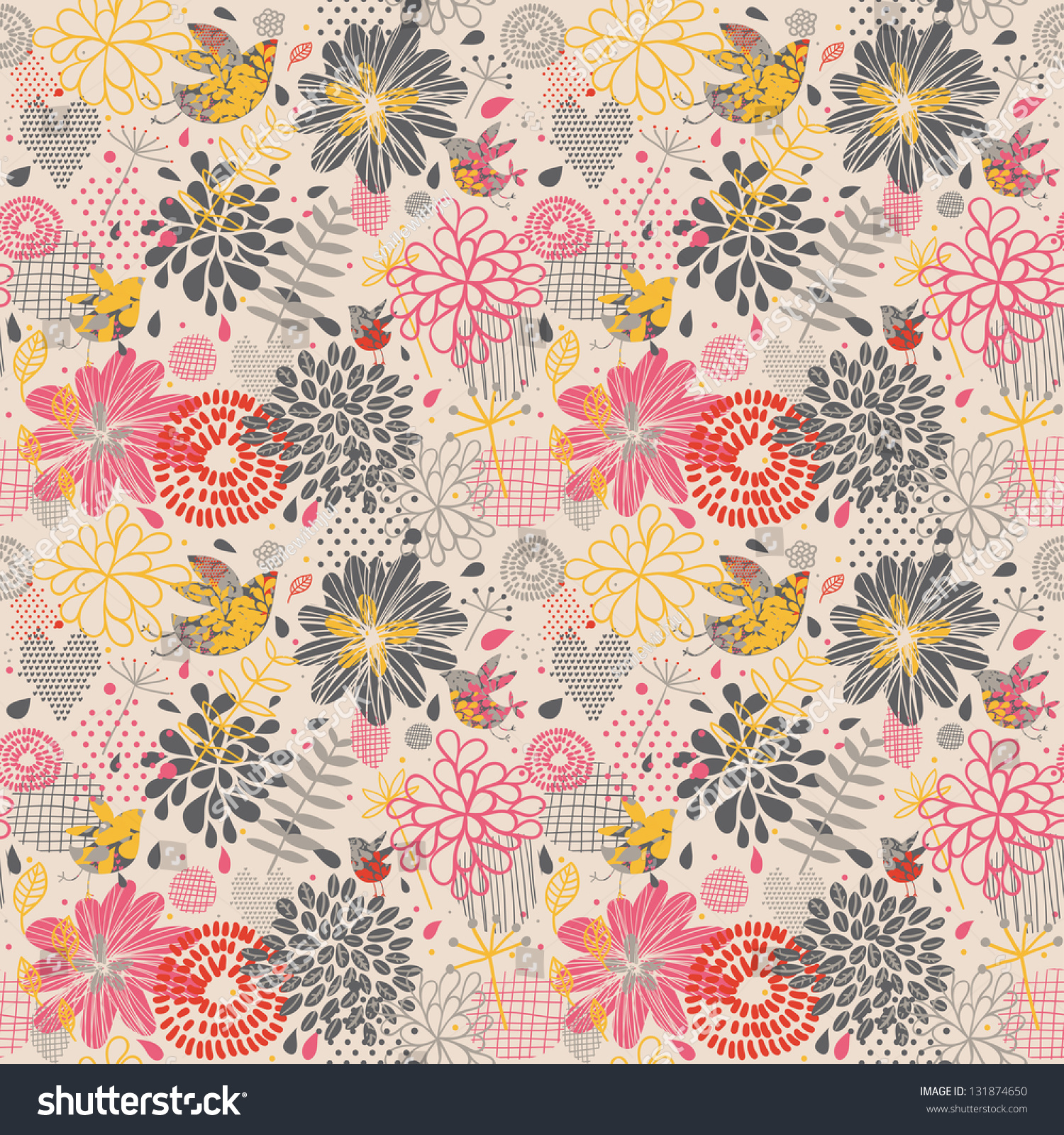 Colorful vintage background patterns - photo#23
