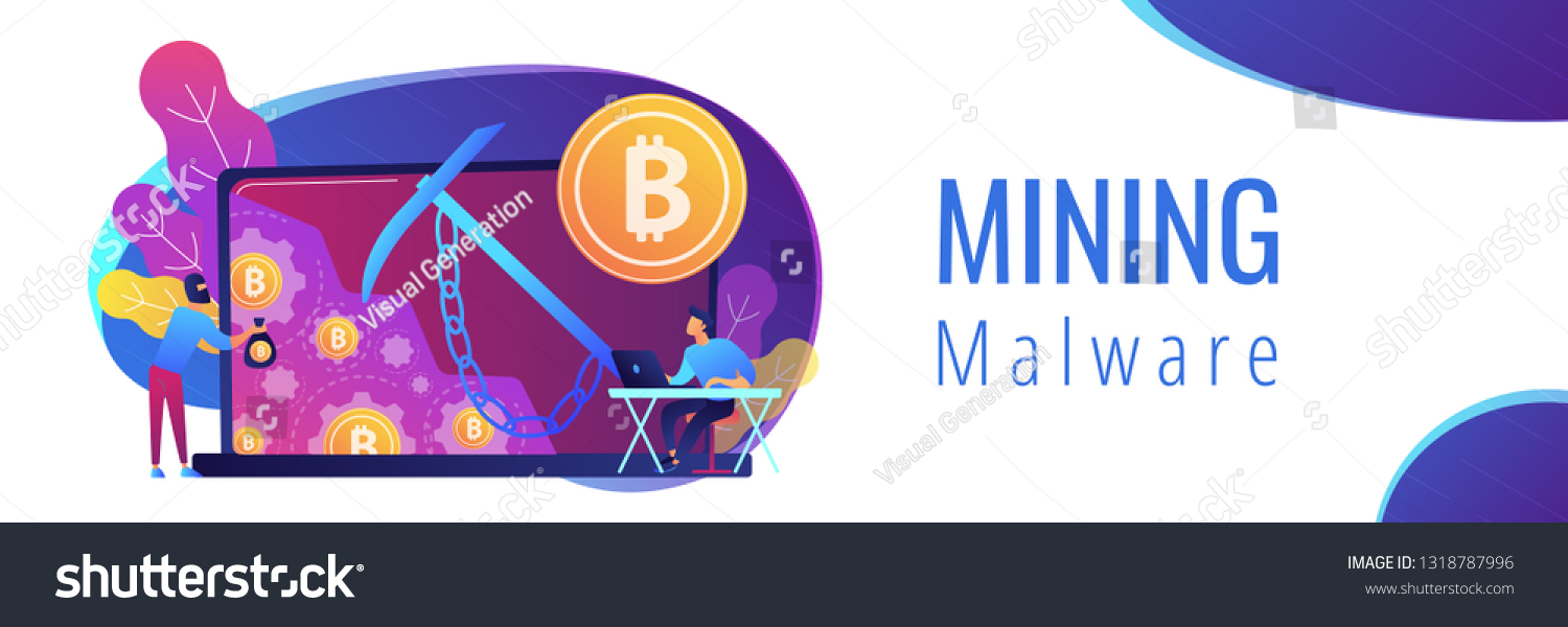 Cryptocurrency pool miner virus