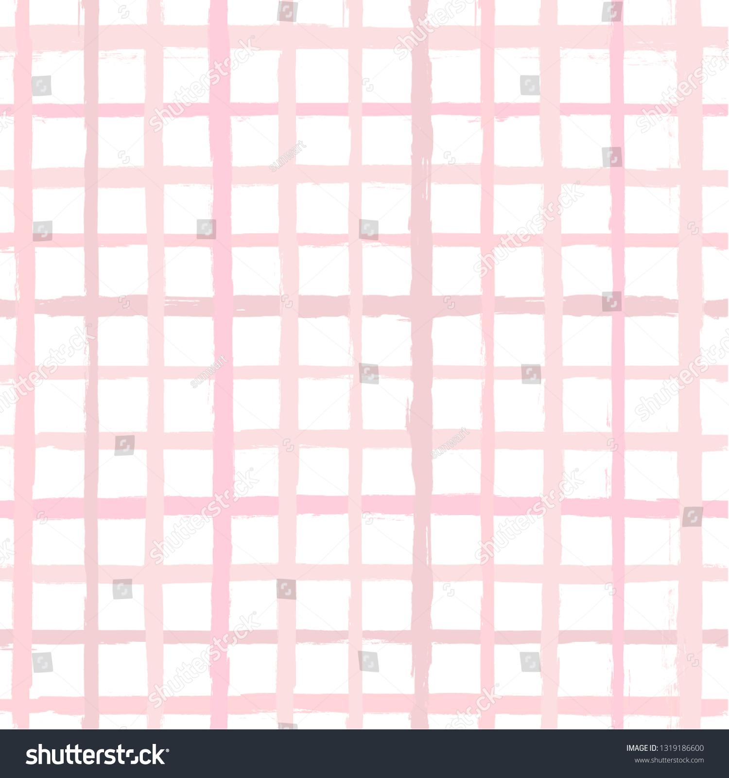 ピンクのギラギラしたシームレスな背景に手描きの縞模様 ラッピング