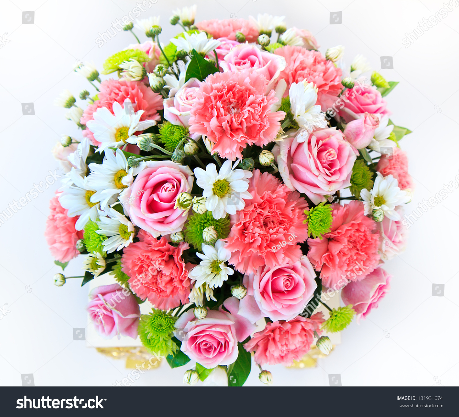 Beautiful bouquet flowers ready big wedding stock photo for Picture of a bouquet of flowers