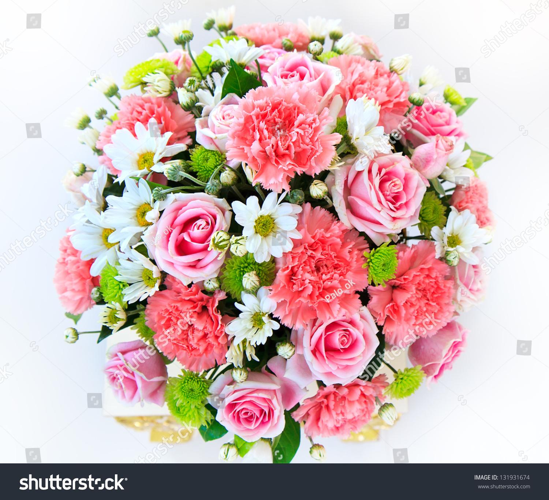 Beautiful bouquet flowers ready big wedding stock photo royalty beautiful bouquet of flowers ready for the big wedding ceremony izmirmasajfo