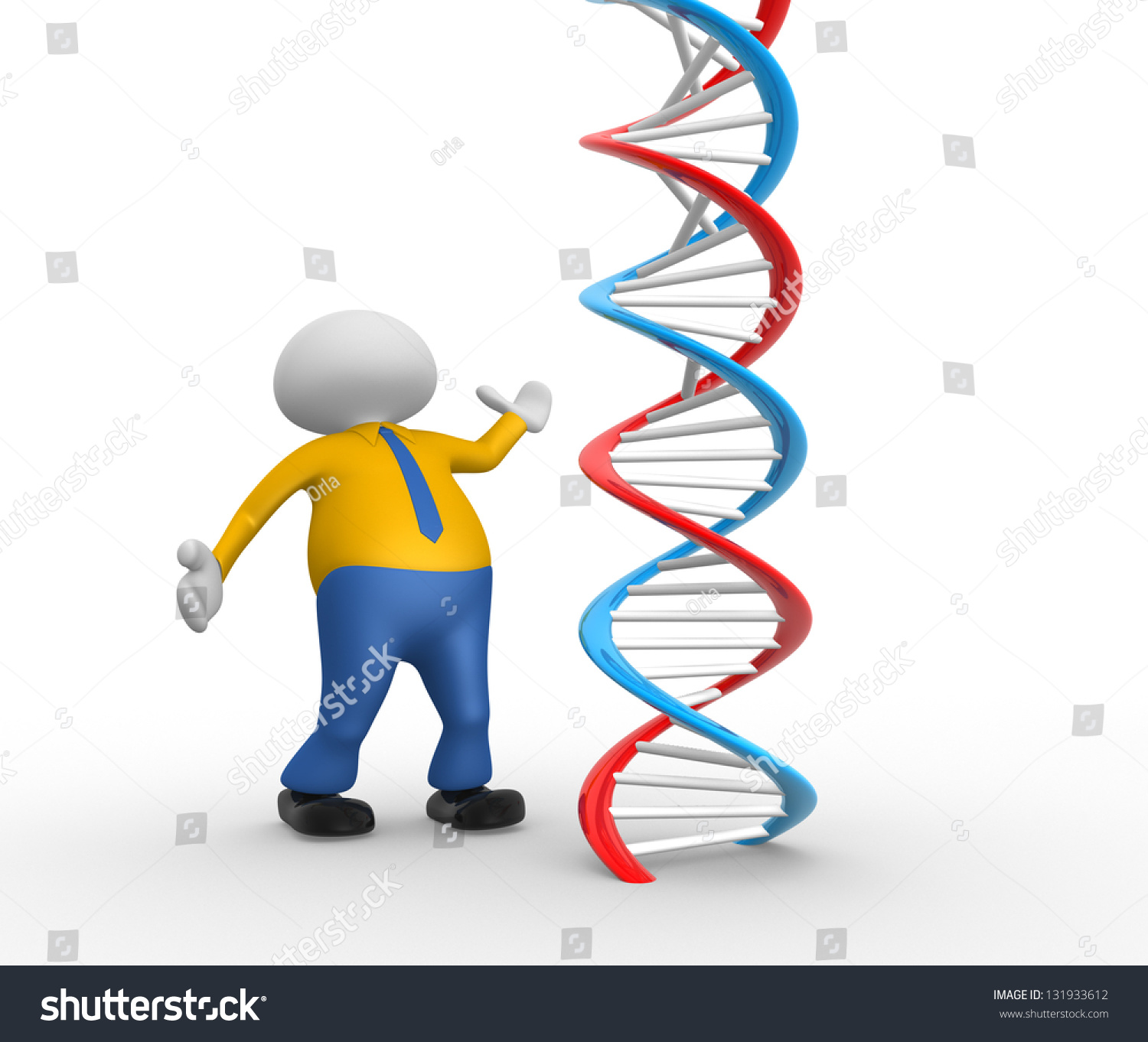 3d people man person dna structure stock illustration 131933612 3d people man person with dna structure ccuart Image collections