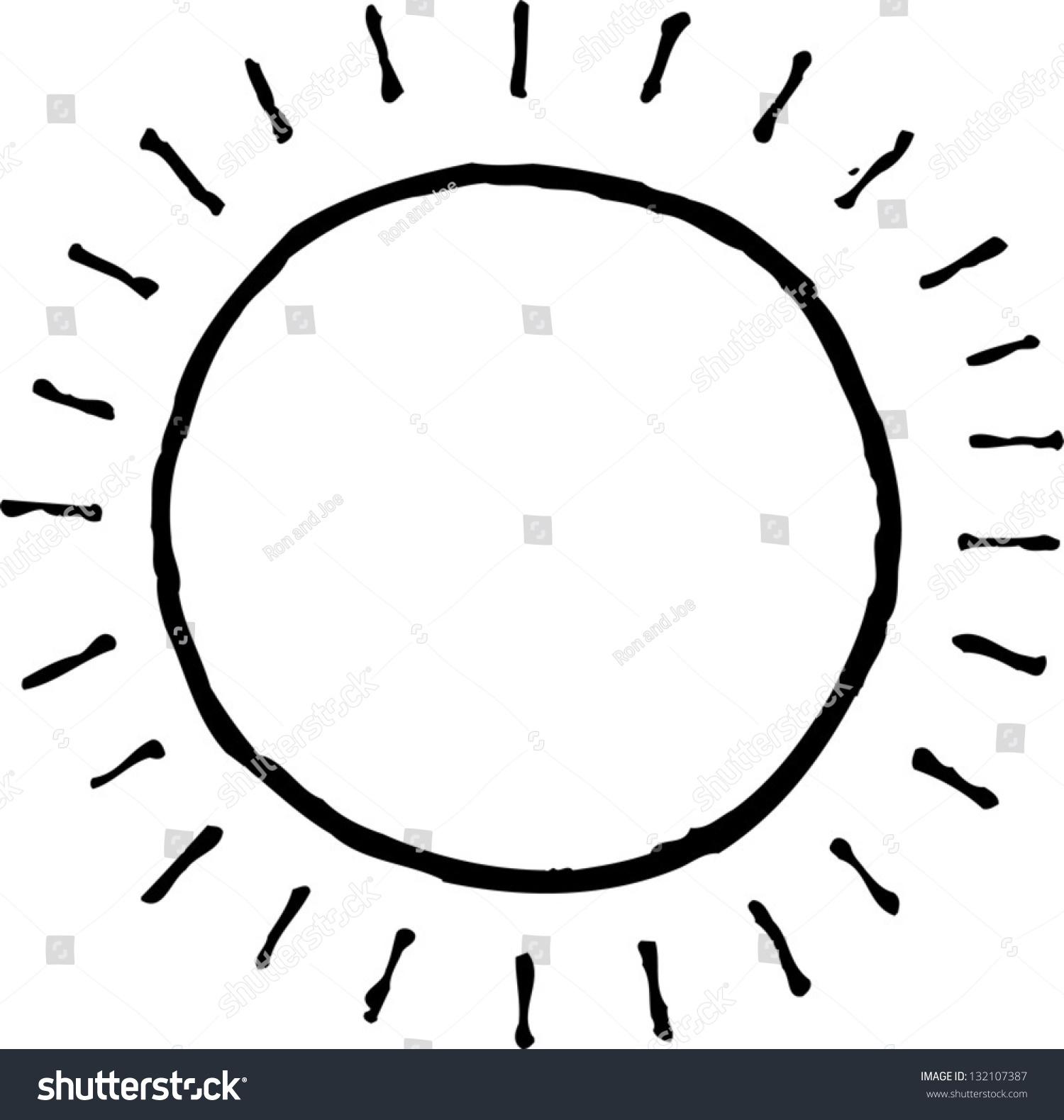 black and sun