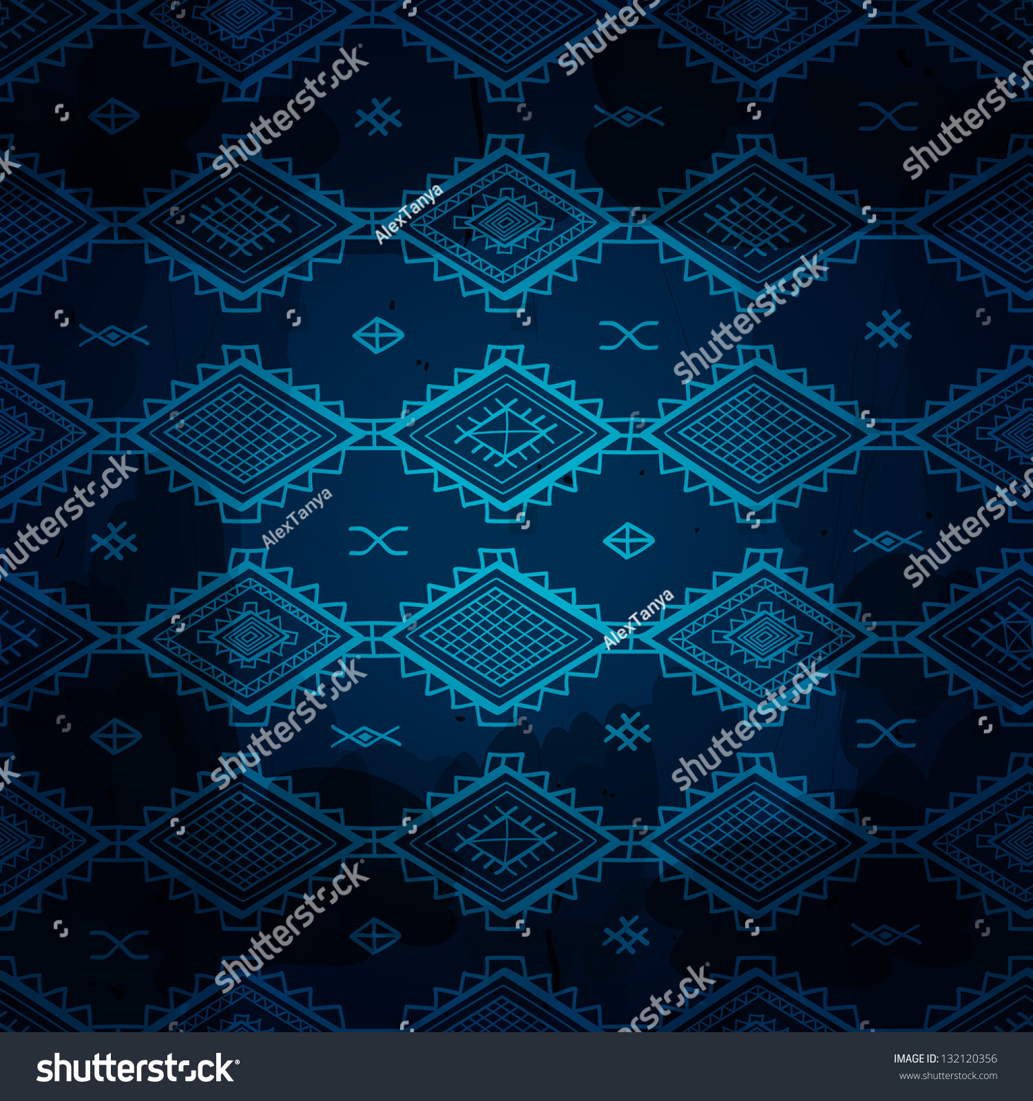 Dark Blue Carpet Texture
