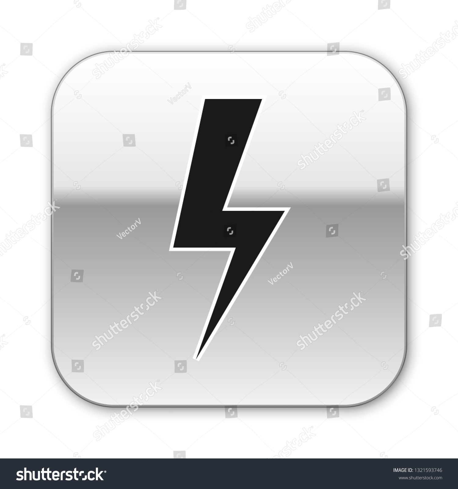 Black Lightning Bolt Icon Isolated On Stock Vector Royalty Free 1321593746,Principles Of Design Pattern Picture