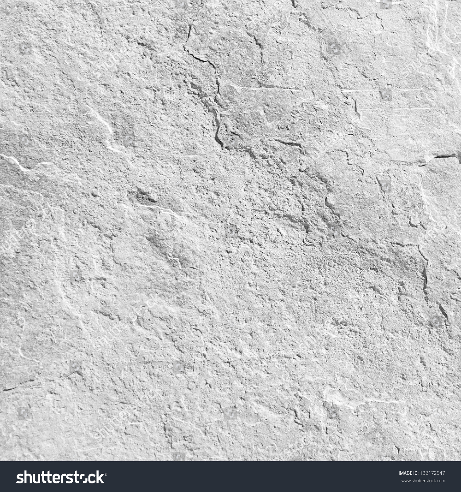 Empty White Stone Texture Or Background #132172547