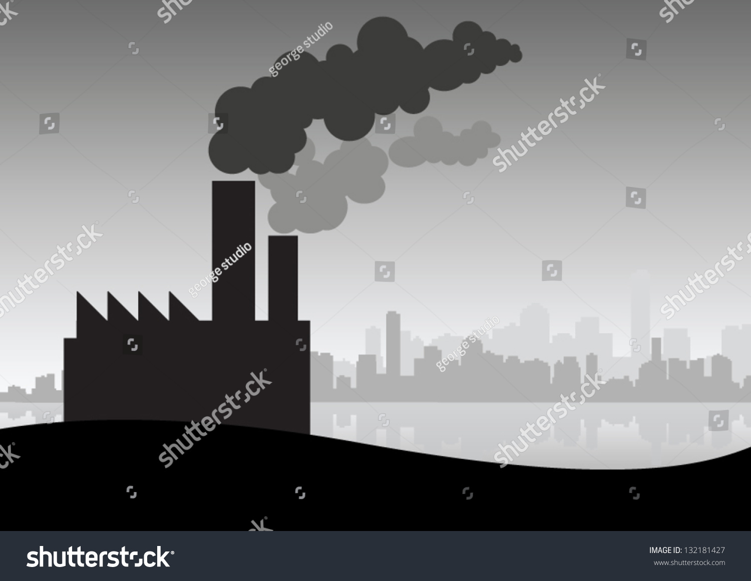 industrial pollution clipart - photo #28