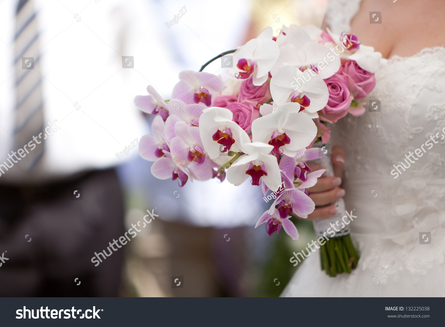 Different Types Flower Bouquet Weddings All Stock Photo 132225038