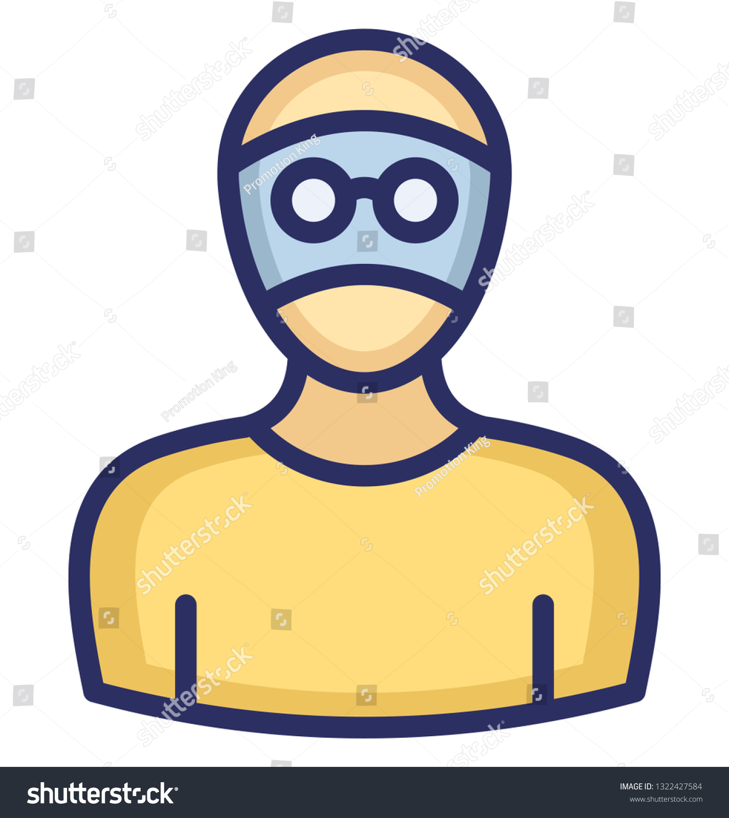 hacker vector icon which can easily stock vector royalty free 1322427584 shutterstock