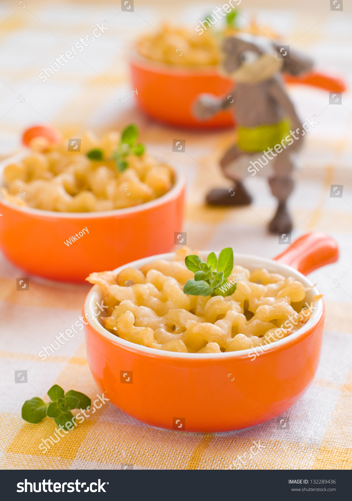 Mac And Cheese, Shot For A Story On Homemade, Organic
