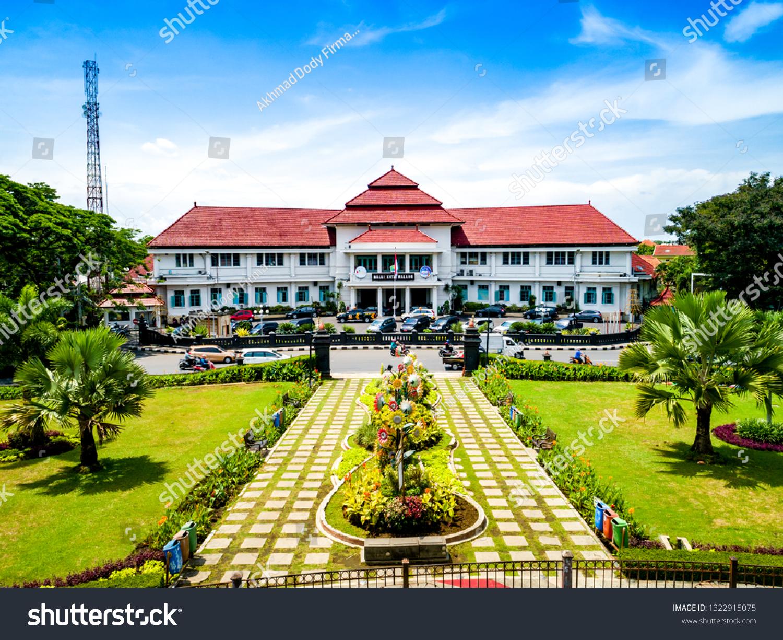 Malang East Java Indonesia Jan 15 Buildings Landmarks Stock Image 1322915075