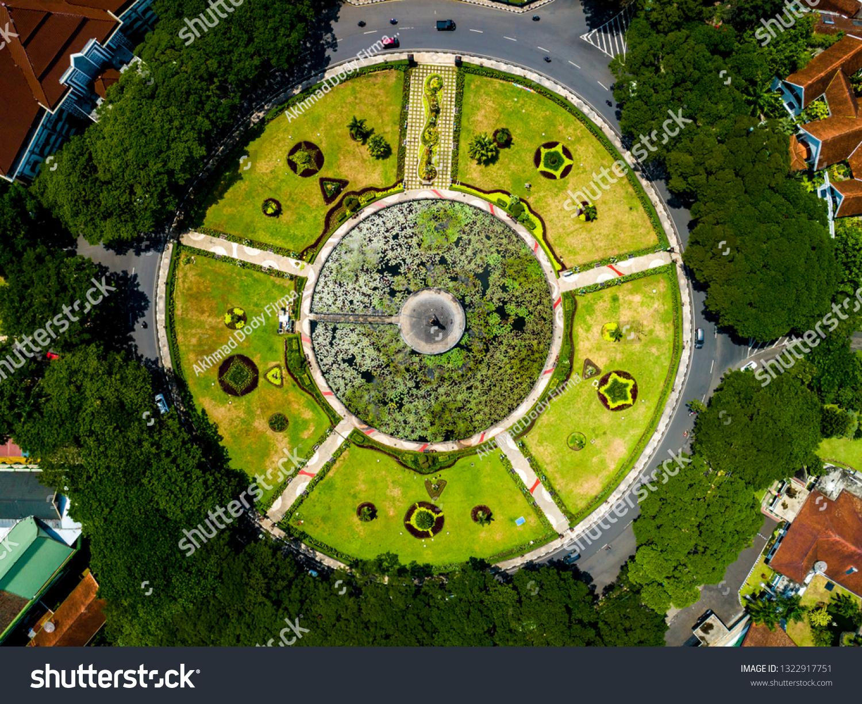 Aerial View Malang City Hall Balai Stock Photo Edit Now 1322917751