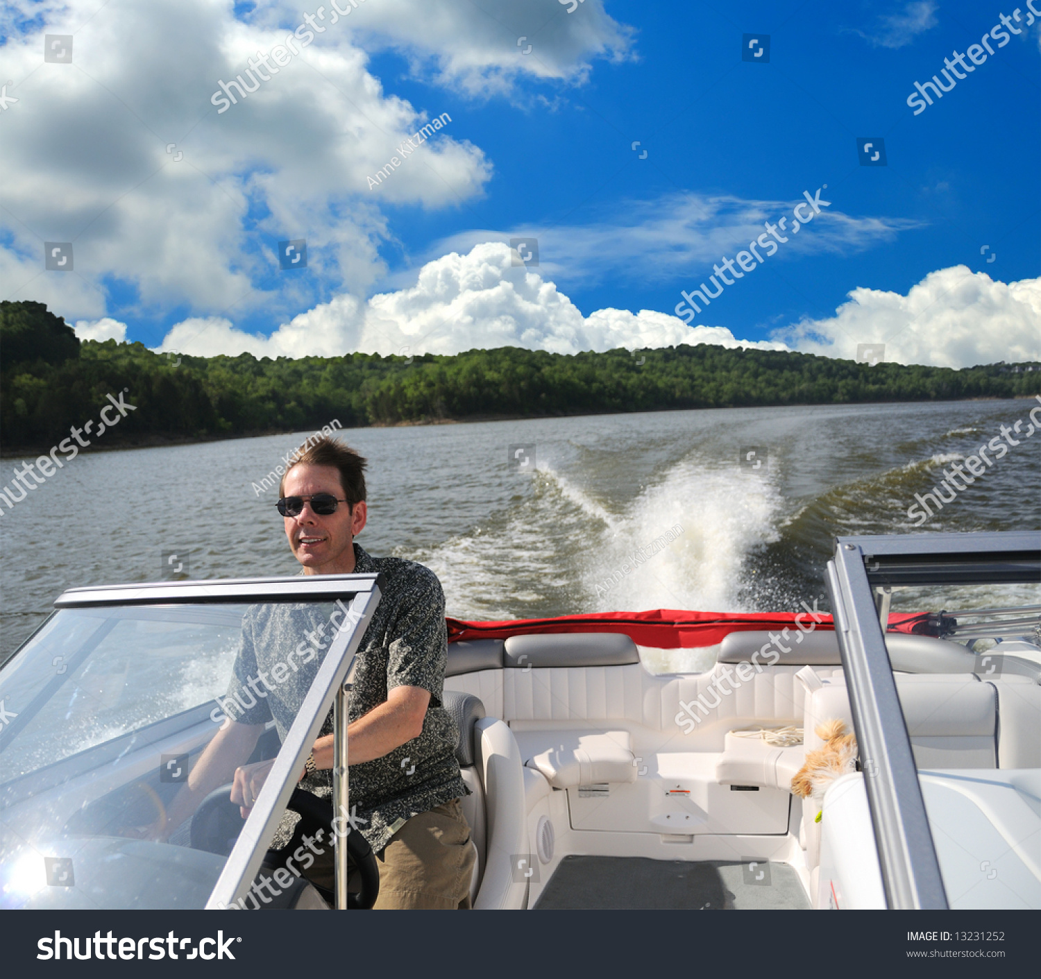 boating kentucky speed boating on taylorsville stock photo edit now rh shutterstock com