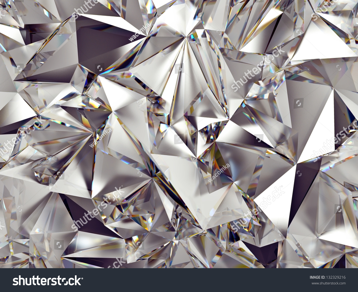 3d Abstract Crystal Clear Background Texture Stock Illustration 132329216 Shutterstock