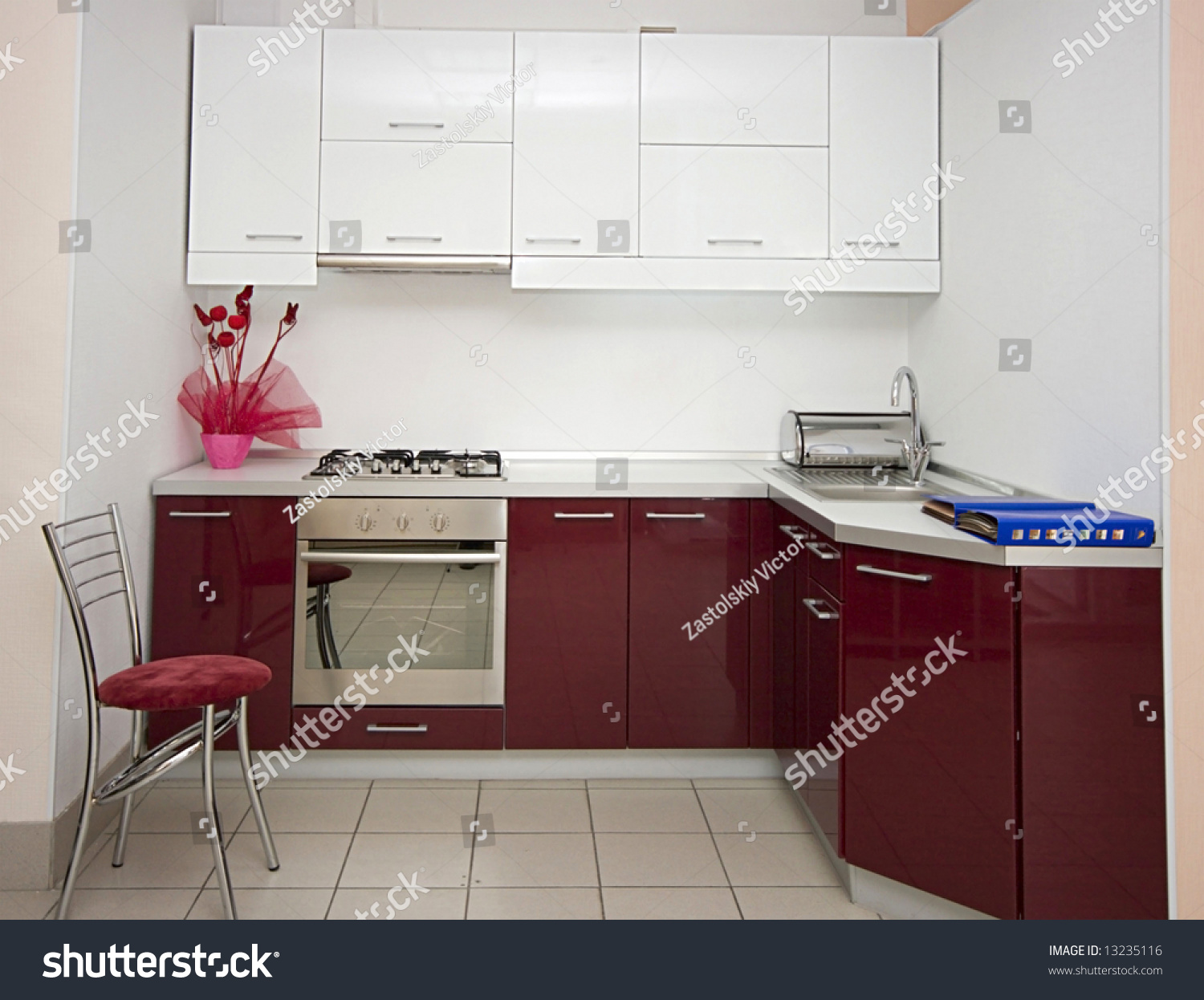 Modern Kitchen Interior Details Image Stock Photo 13235116 Shutterstock