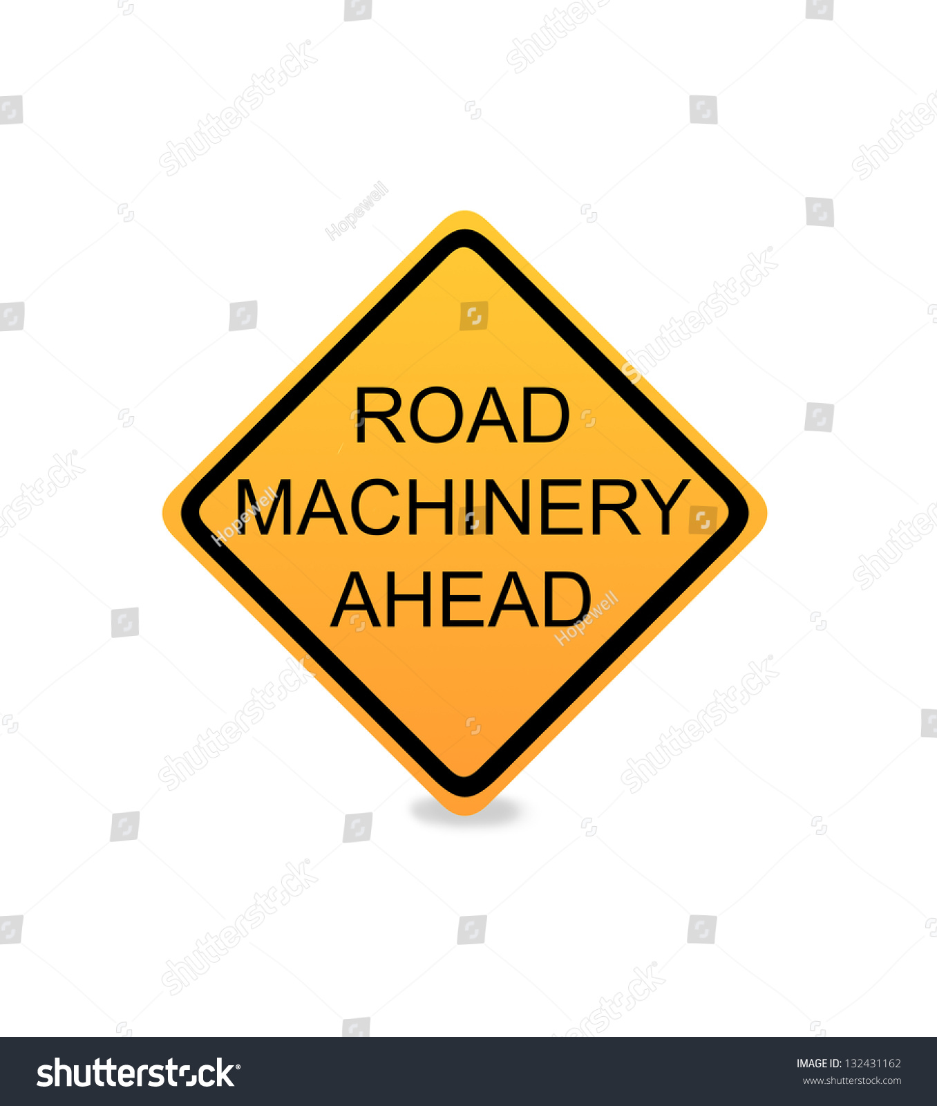 road construction signs stock photo 132431162 shutterstock