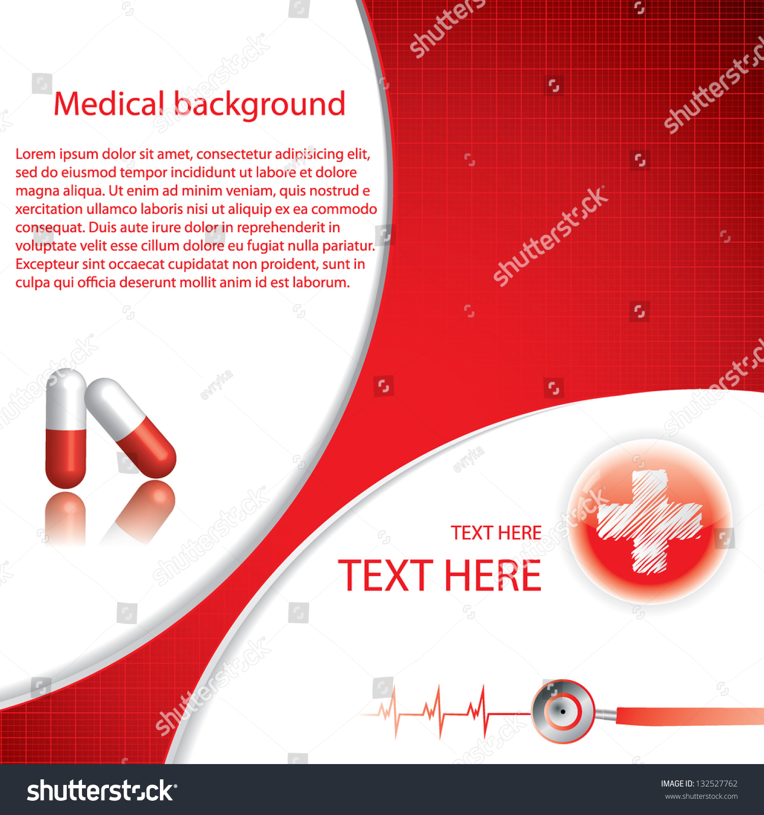 red medical background - photo #20