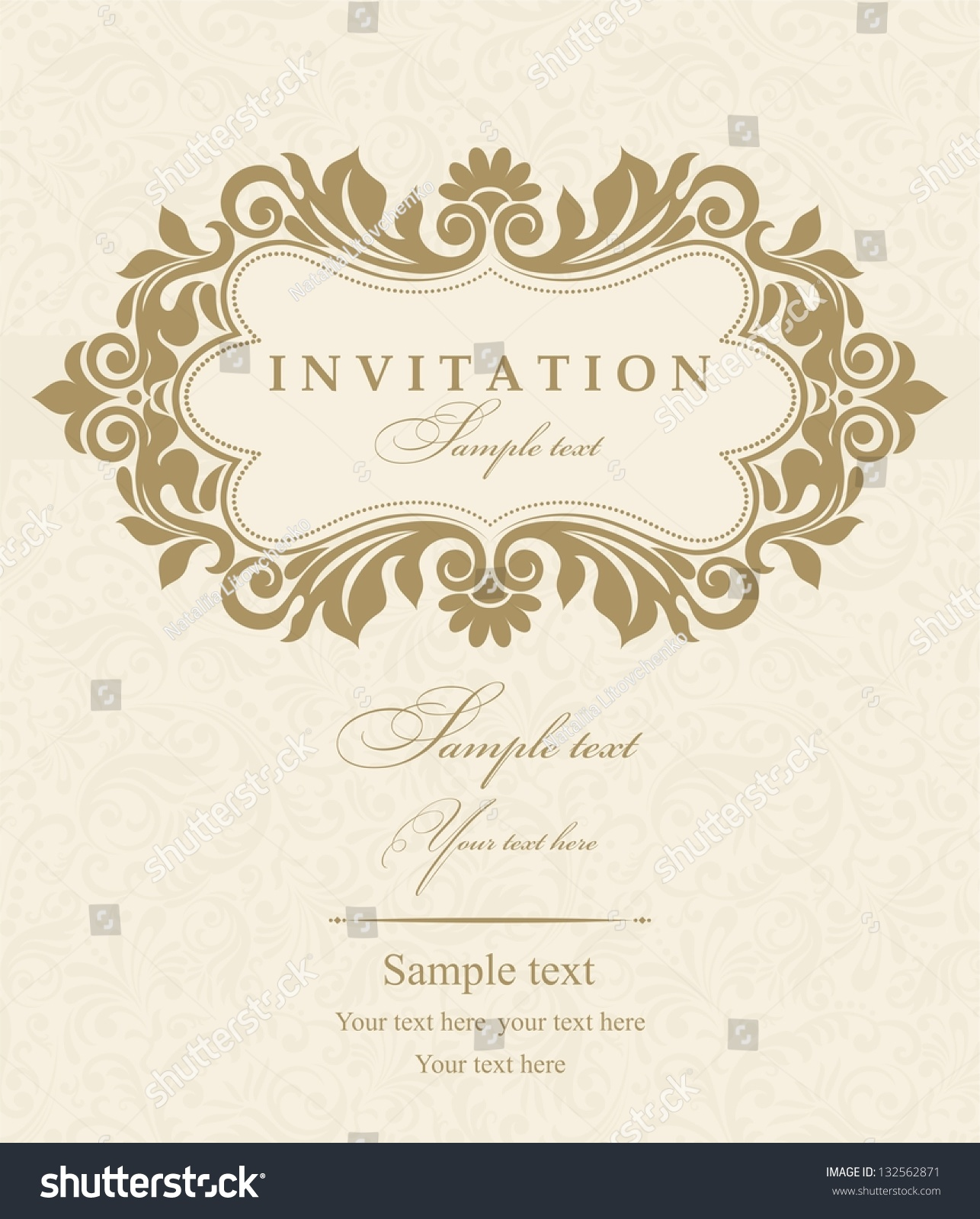 Free E Wedding Invitation Card Templates is perfect invitation sample