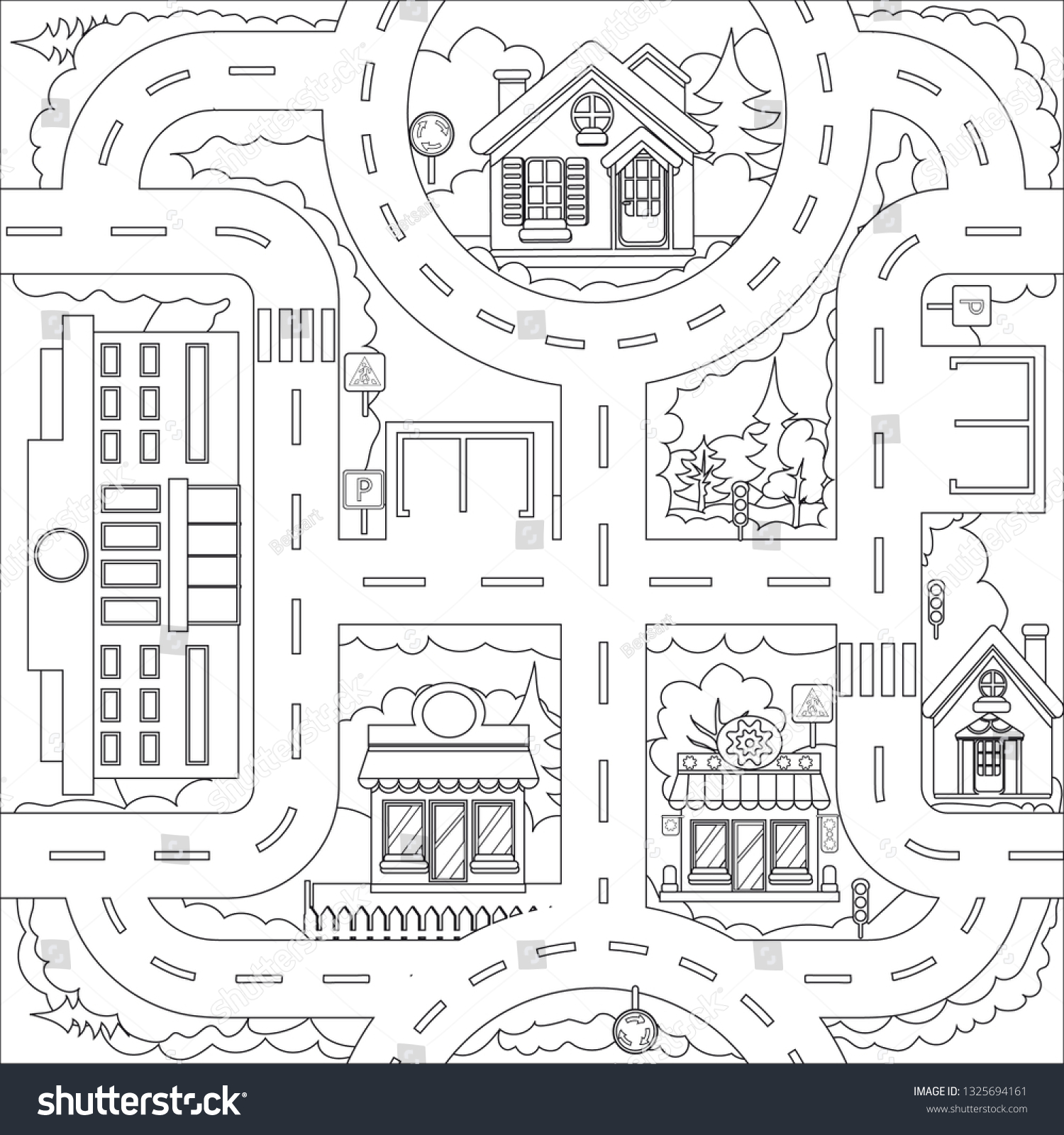 Printable Adult Wild West Town Coloring Pages - Coloring Home | 1600x1500