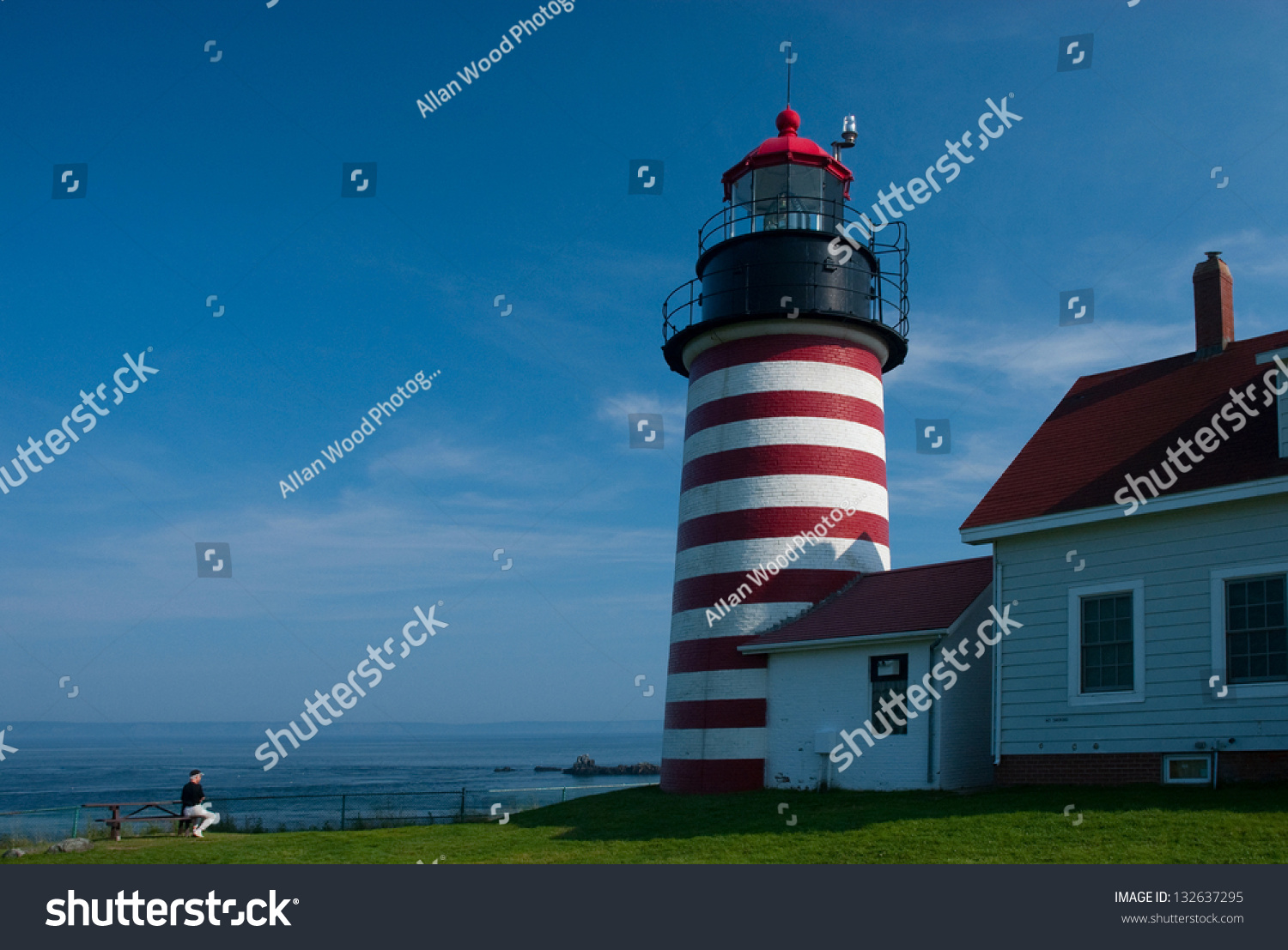 West quoddy head lighthouse in lubec maine is located for What state has the most lighthouses
