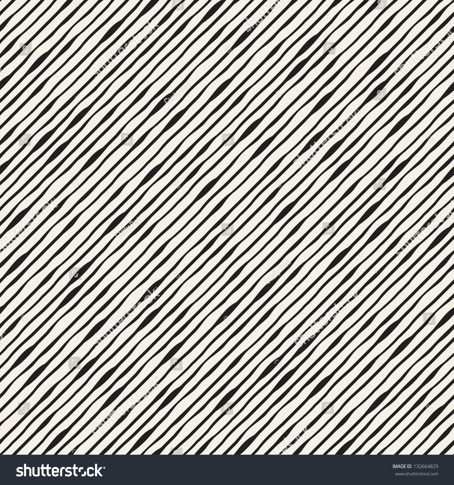 Line And Texture : Seamless wavy pattern repeating vector texture stock